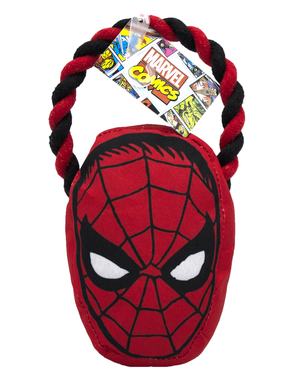 Fetch For Pets Fetch For Pets Marvel Spiderman Rope Pull Toy