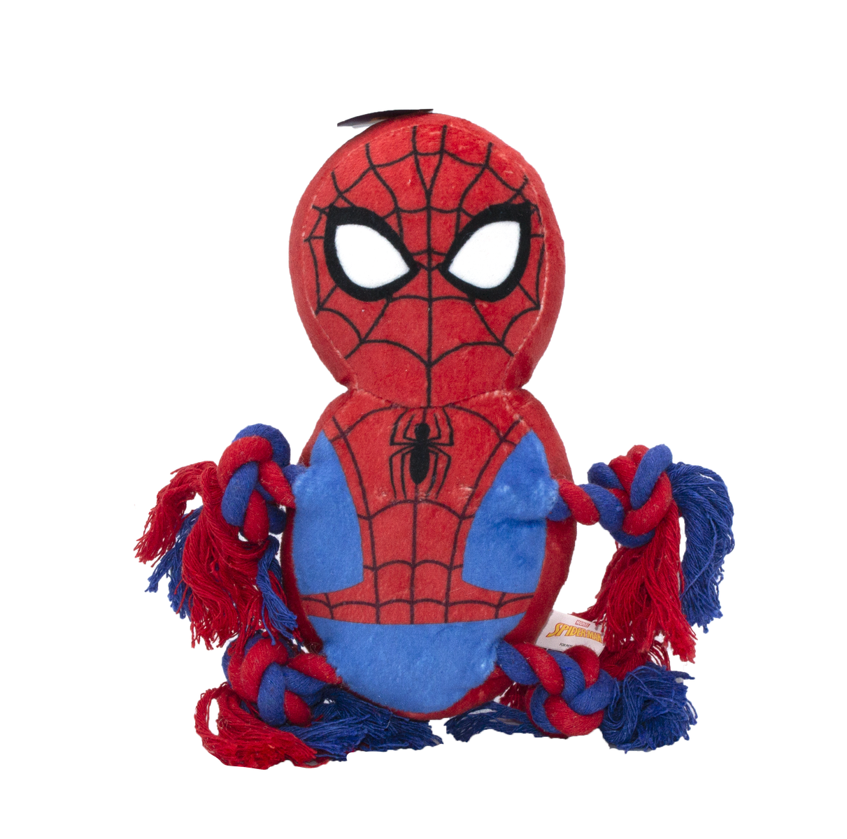 Fetch For Pets Fetch For Pets Marvel Spiderman Rope Buddy Toy