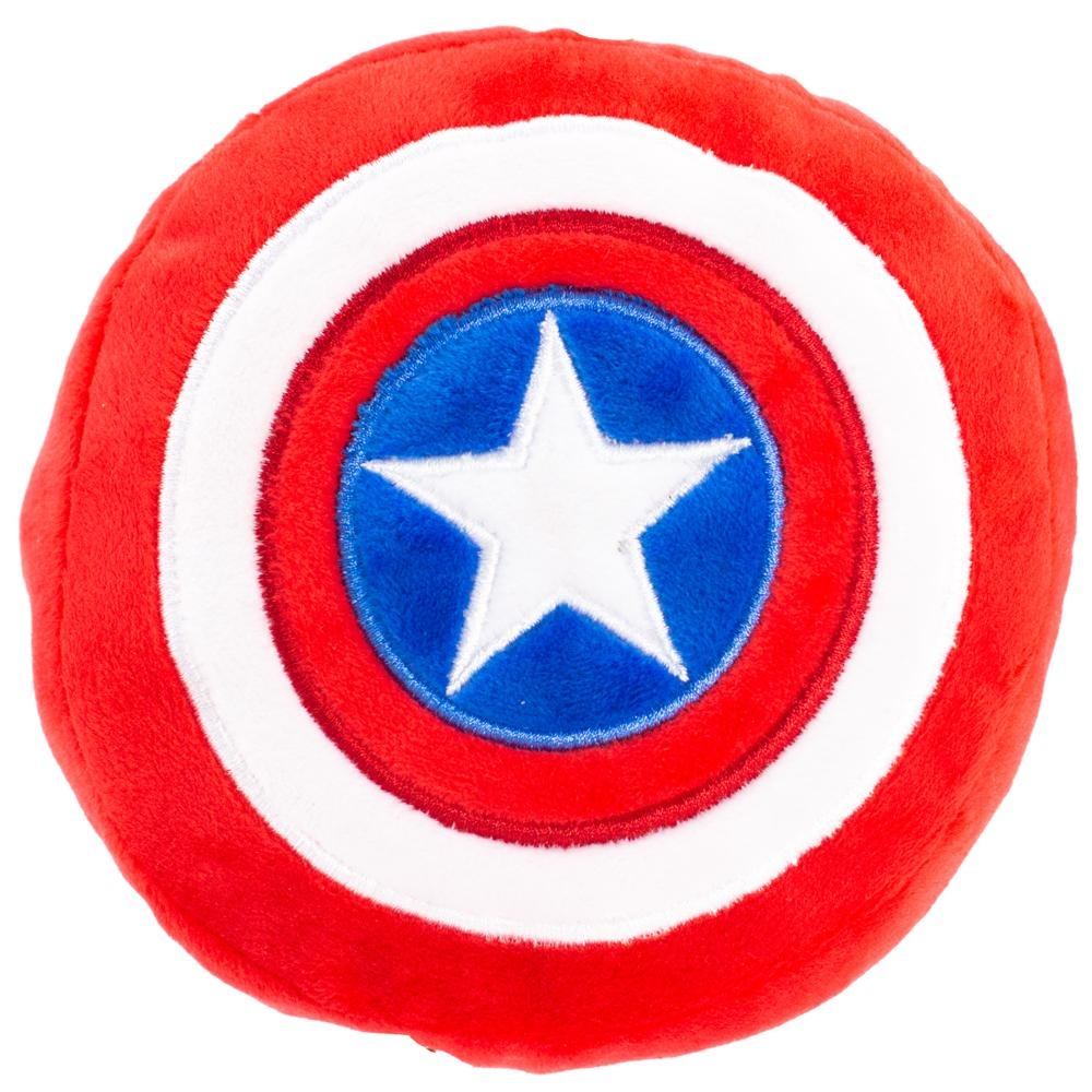 Buckle Down Buckle-Down Captain America Shield Squeaky Plush