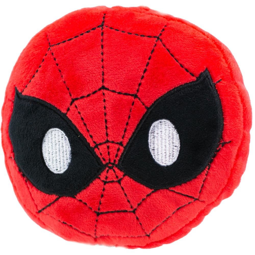 Buckle Down Buckle-Down Spider-Man Face Emoji Squeaky Plush