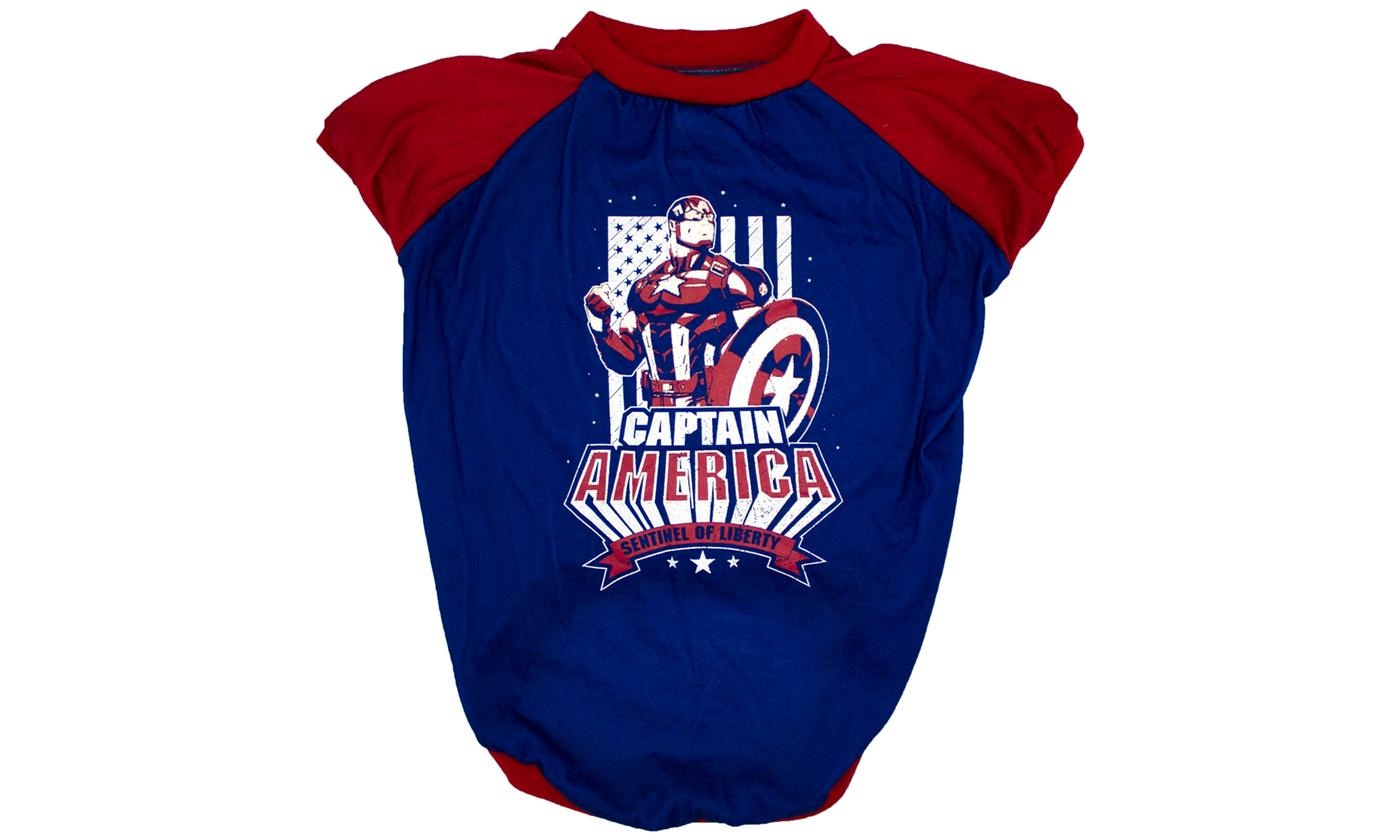 Fetch For Pets Fetch For Pets Marvel Captain America Tee