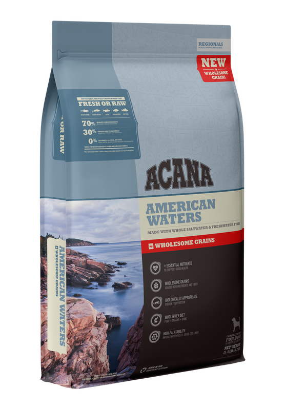 Acana Acana Wholesome Grains Regional American Waters  Recipe