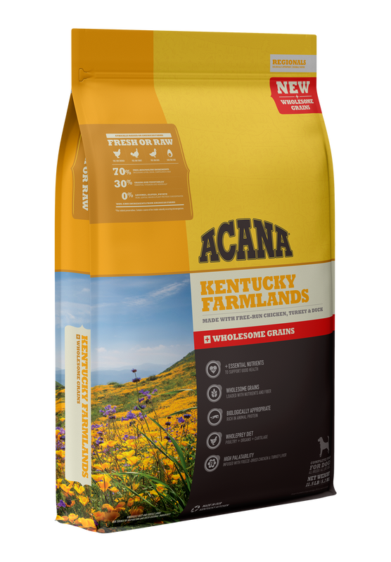 Acana Acana Wholesome Grains Regional Kentucky Farmlands Recipe