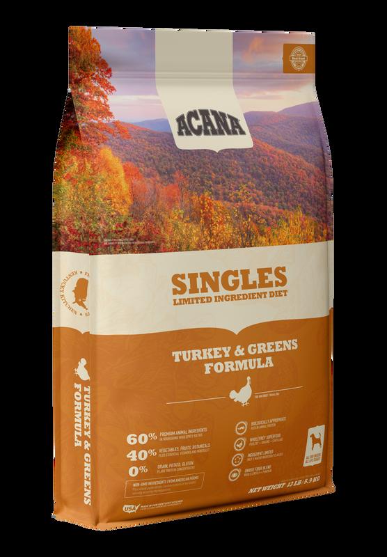 Acana Acana Singles Turkey & Greens Formula