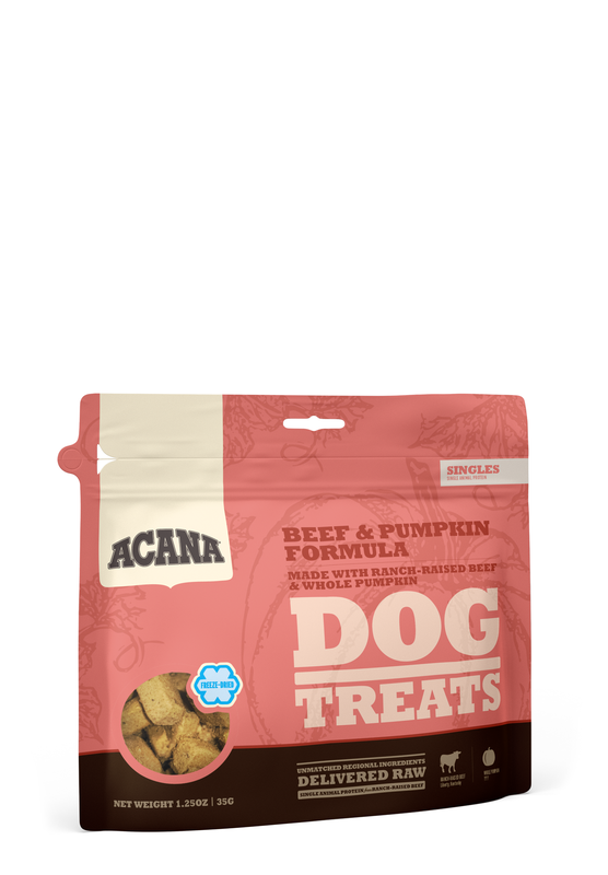 Acana Acana Beef & Pumpkin Treats
