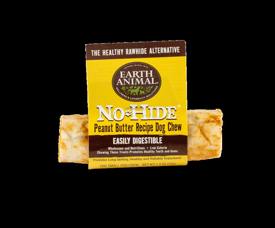 "Earth Animal Earth Animal No Hide Peanut Butter Chew Small 4"""