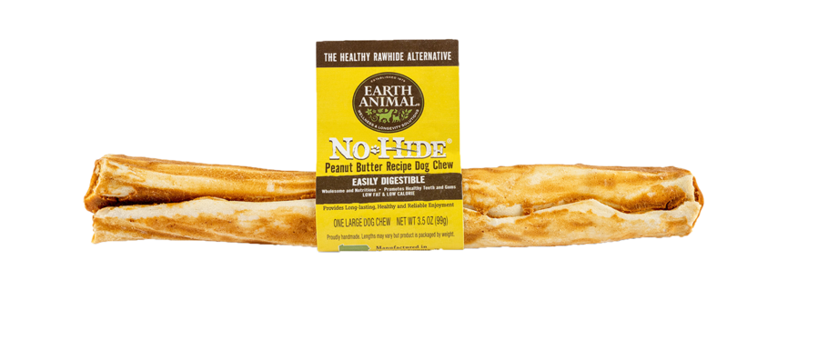 """Earth Animal Earth Animal No Hide Peanut Butter Chew Large 11"""""""