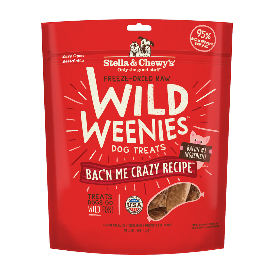 Stella & Chewys Stella & Chewys Wild Weenies Bac'n Me Crazy Recipe