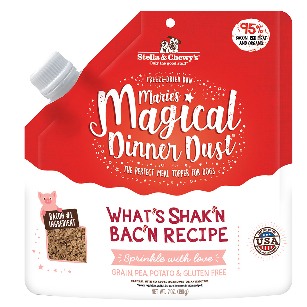 Stella & Chewys Stella & Chewys Marie's Magical Dinner Dust What's Shak'n Bac'n Recipe 7oz