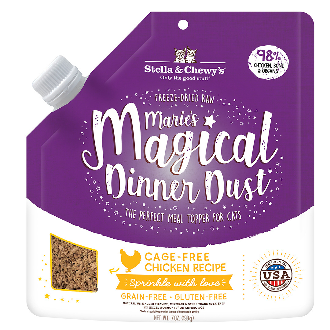 Stella & Chewys Stella & Chewys Marie's Magical Dinner Dust Cage-Free Chicken Recipe For Cats 7oz