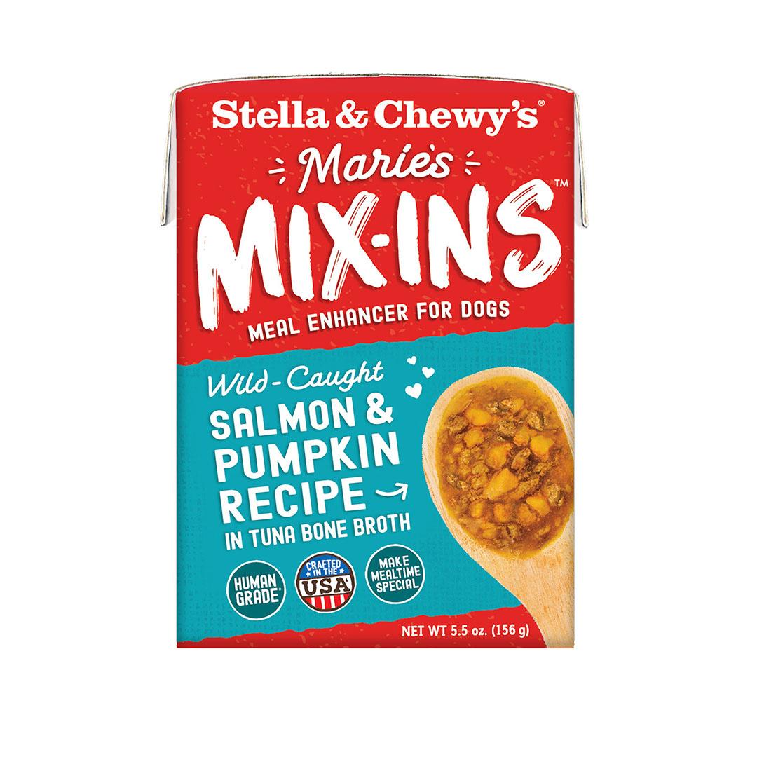 Stella & Chewys Stella & Chewys Marie's Mix-Ins Wild-Caught Salmon & Pumpkin Recipe