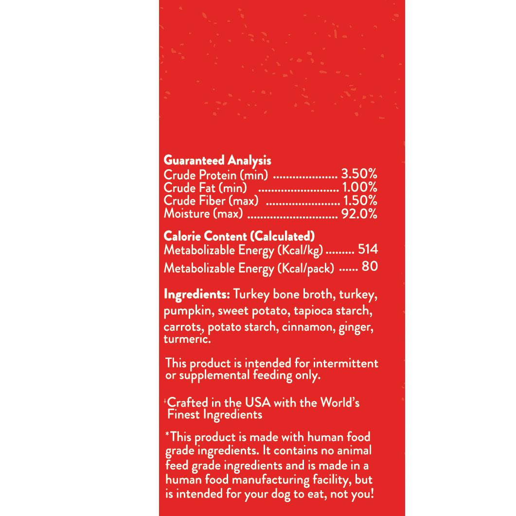 Stella & Chewys Stella & Chewys Marie's Mix-Ins Cage Free Turkey & Pumpkin Recipe
