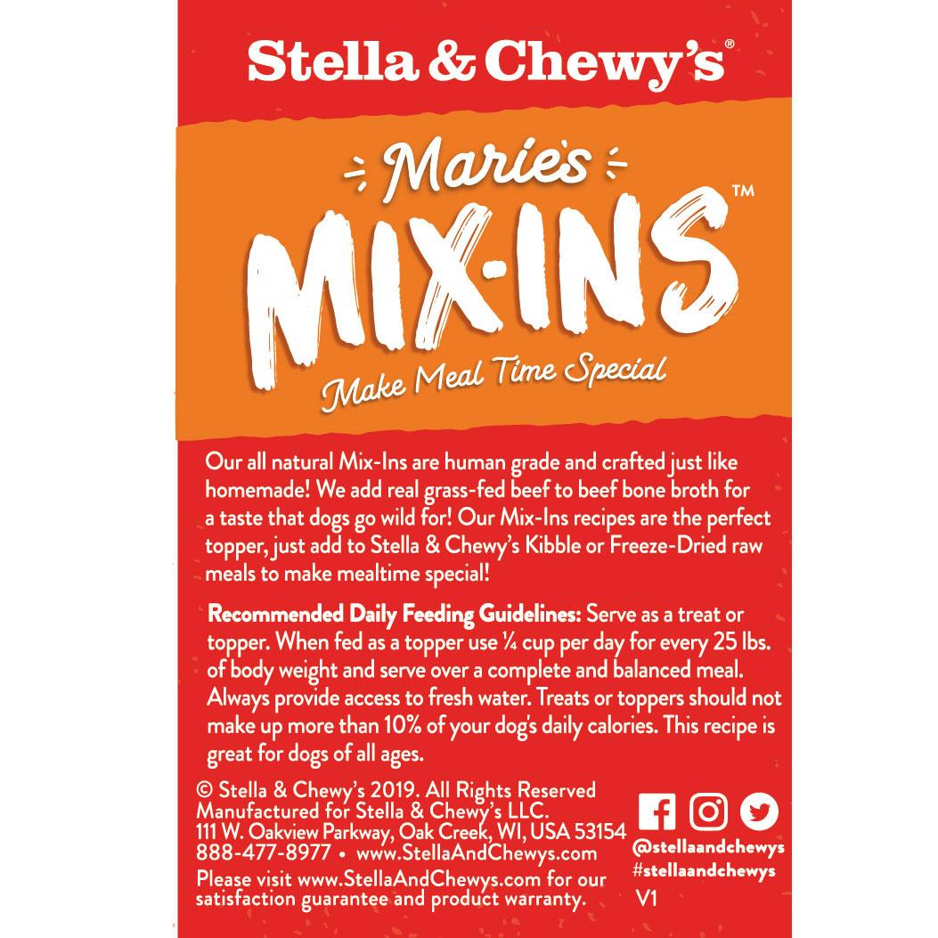 Stella & Chewys Stella & Chewys Marie's Mix-Ins Grass Fed Beef & Pumpkin Recipe