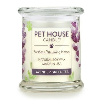 One Fur All Pet House Candle Lavender Green Tea 8.5oz
