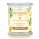 One Fur All Pet House Candle Mandarin Sage 8.5oz
