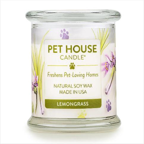 One Fur All Pet House Candle Lemon Grass 8.5oz