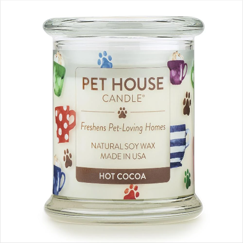 One Fur All Pet House Candle Hot Cocoa 8.5oz
