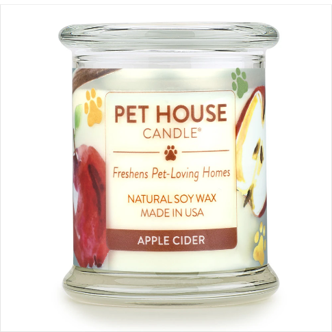 One Fur All Pet House Candle Apple Cider 8.5oz