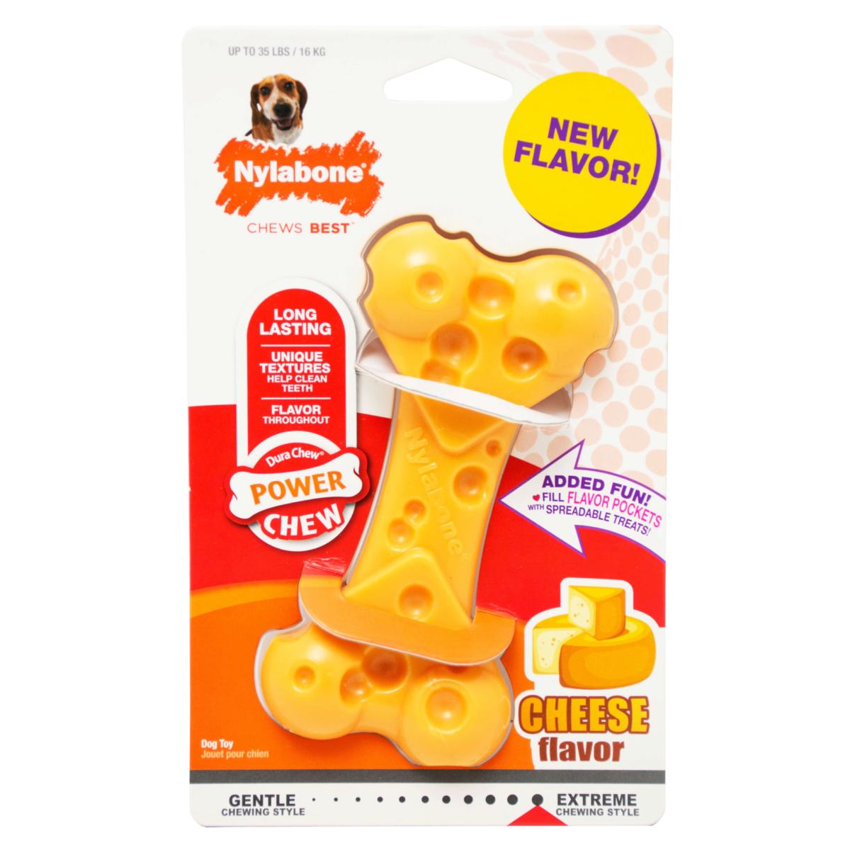 Nylabone Nylabone Dura Chew Cheese Wolf
