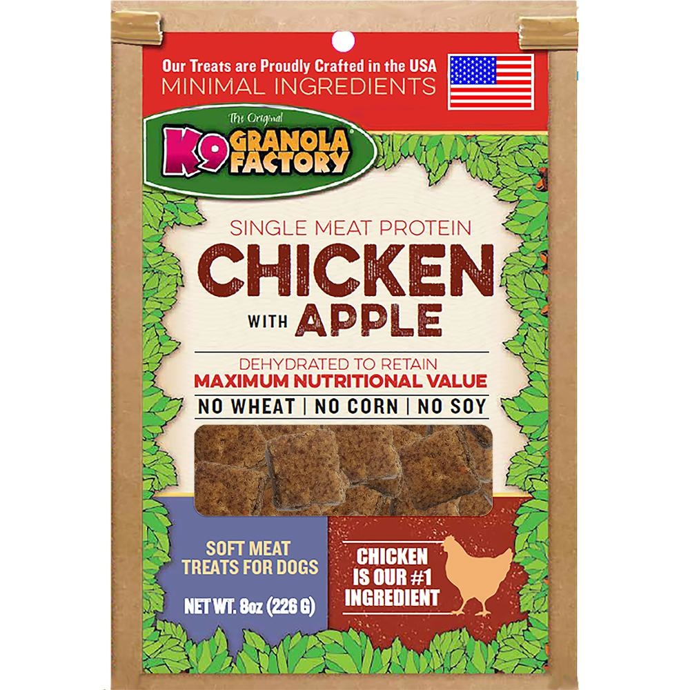 K9 Granola Factory K9G Dehydrated Meat Chicken & Apple 8oz