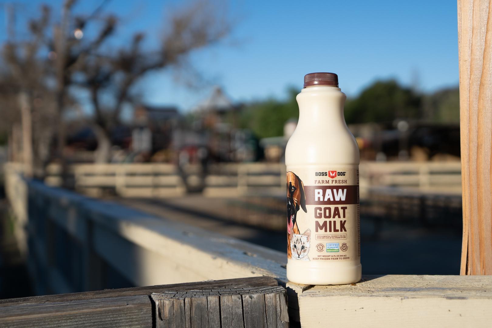 Boss Dog Boss Dog Raw Goat Milk