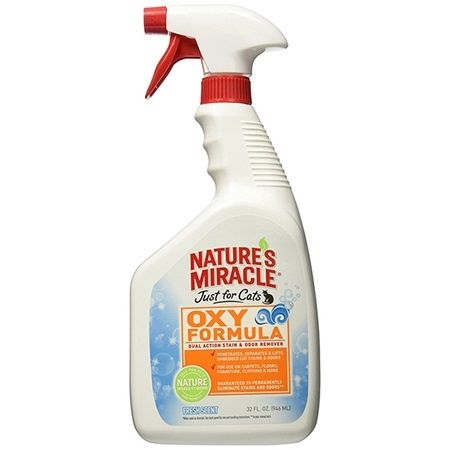Natures Miracle Natures Miracle Just For Cats Oxy Formula Fresh Scent