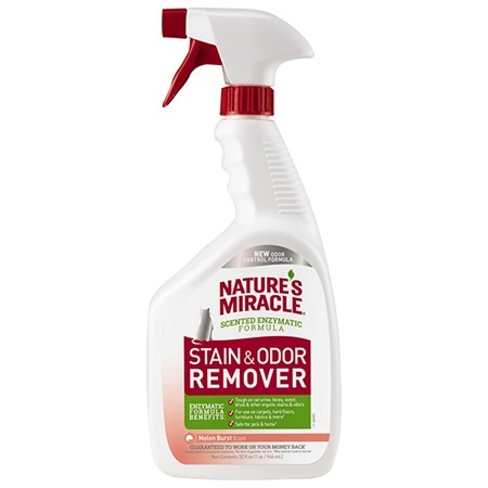 Natures Miracle Nature's Miracle Stain & Odor Remover Just For Cats Melon Burst