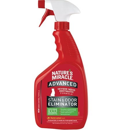 Natures Miracle Natures Miracle Advanced Just For Cats Stain & Odor Remover Lemon Scent