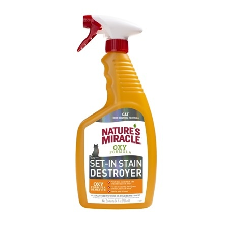 Natures Miracle Natures Miracle Oxy Set-In-Stain Destroyer Cat