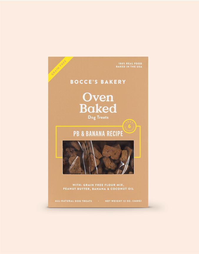Bocce's Bakery Bocce's Grain Free PB & Banana 12oz
