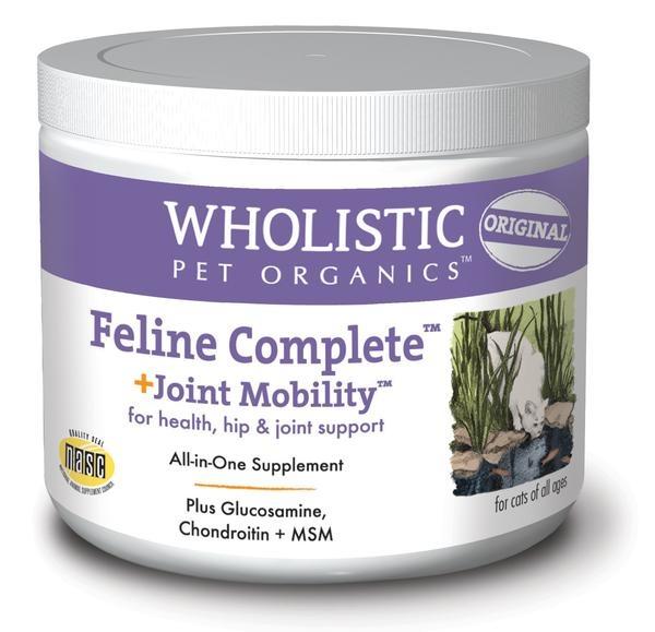 Wholistic Pet Organics Wholistic Feline Complete + Joint Mobility