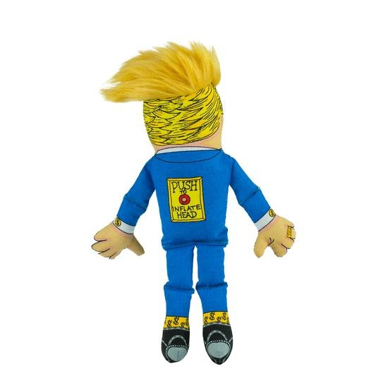 "Fuzzu Fuzzu Donald Trump Dog Toy - Large 17"" with Squeaker"