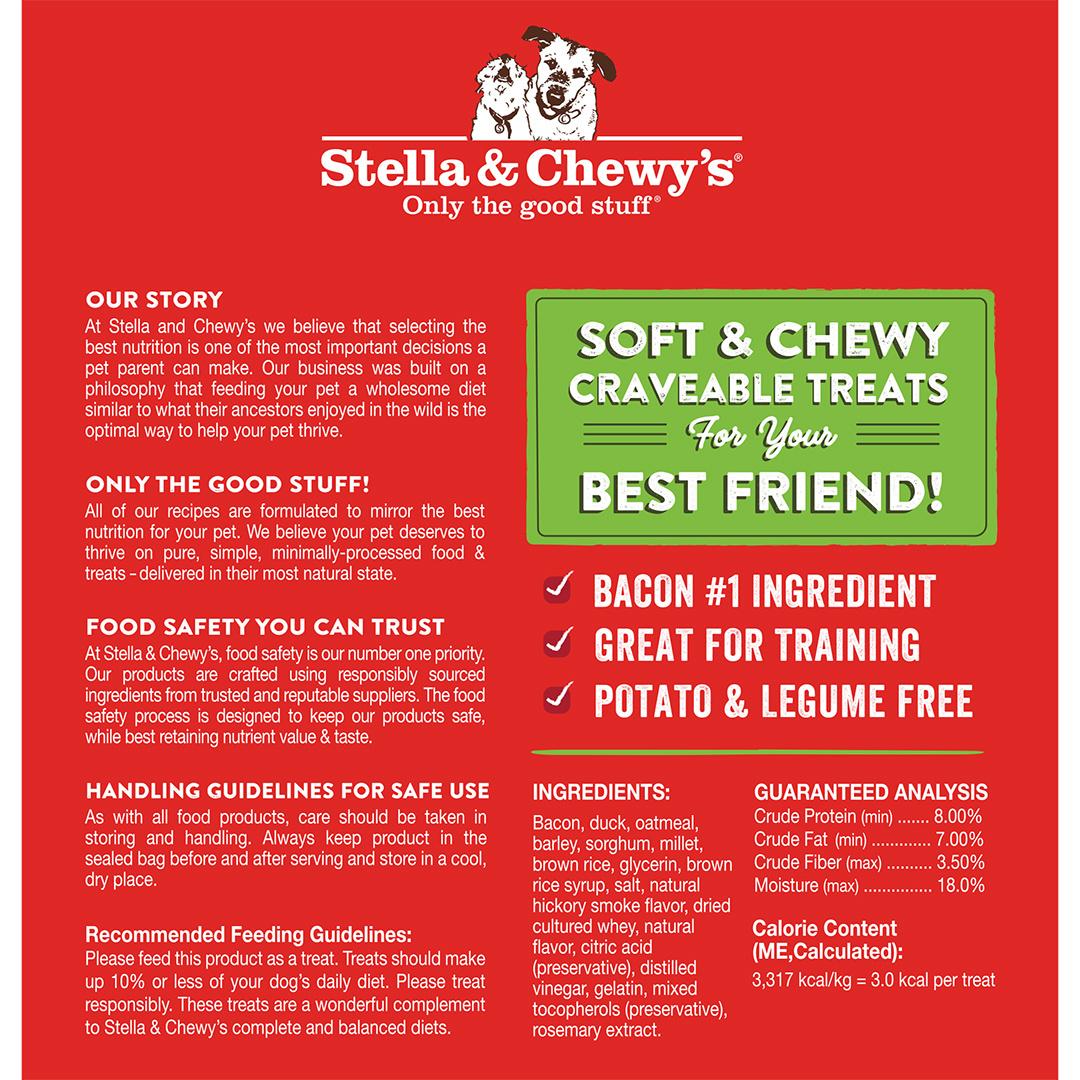 Stella & Chewys Stella & Chewys Crav'n Bac'n Bites Bacon & Duck Recipe 8.25oz