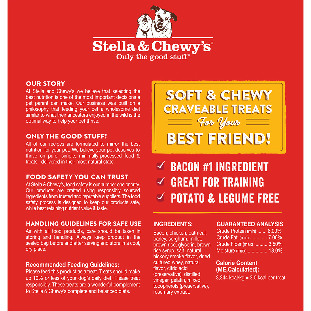 Stella & Chewys Stella & Chewys Crav'n Bac'n Bites Bacon & Chicken Recipe 8.25oz