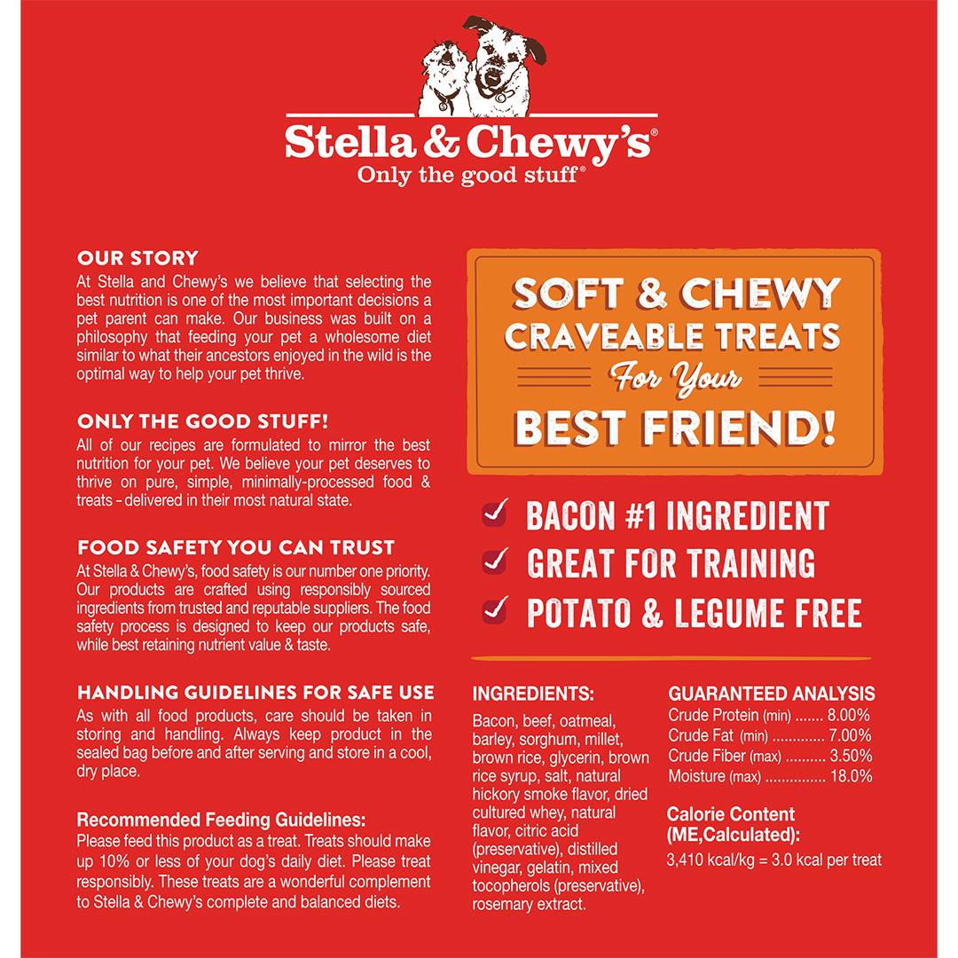 Stella & Chewys Stella & Chewys Crav'n Bac'n Bites Bacon & Beef Recipe 8.25oz