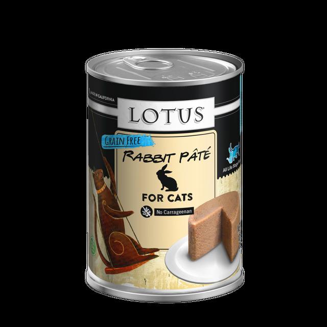 Lotus Pet Foods Lotus Grain Free Rabbit And Vegetable For Cats