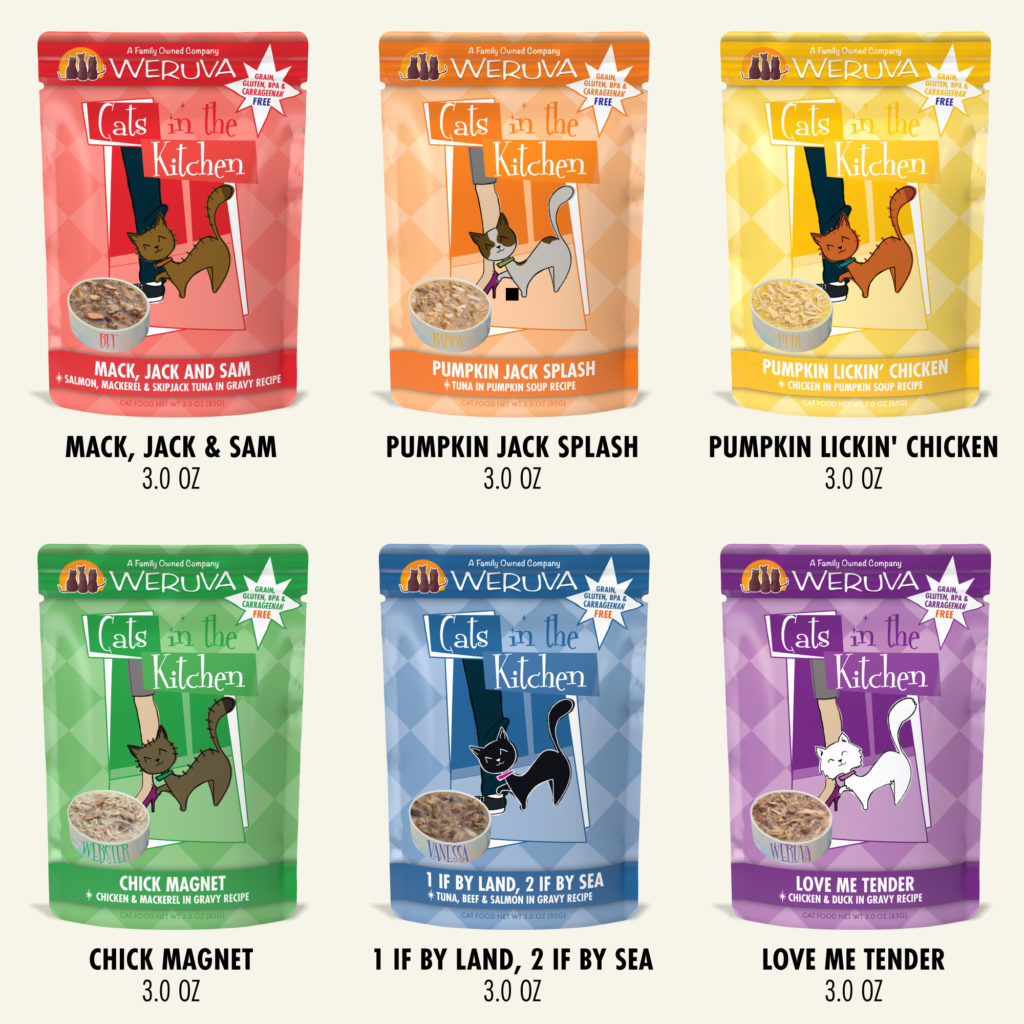 Weruva Weruva Cats in the Kitchen Pantry Party! Variety Pack 3oz Case (12 pouches)