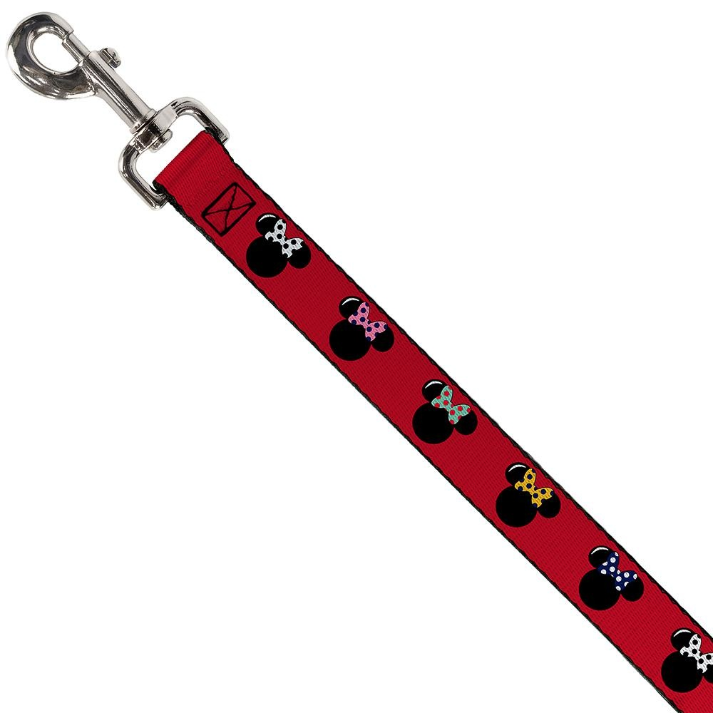 Buckle Down Buckle-Down Disney Minnie Mouse Silhouette Leash 4 Ft