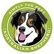 Paper Russells Simply The Best Australian Shepherd Car Magnet