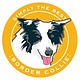 Paper Russells Simply The Best Border Collie Car Magnet
