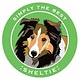 Paper Russells Simply The Best Sheltie Car Magnet