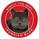 Paper Russells Simply The Best Russian Blue Cat Car Magnet