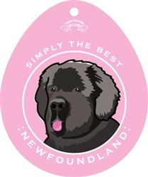 Paper Russells Simply The Best Newfoundland Decal