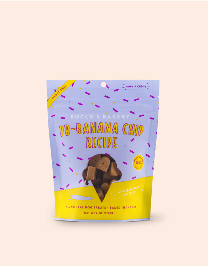 Bocce's Bakery Bocce's Scoop Shop Soft & Chewy PB-Banana Chip Recipe 6oz