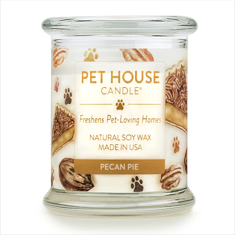 One Fur All Pet House Candle Pecan Pie 8.5oz