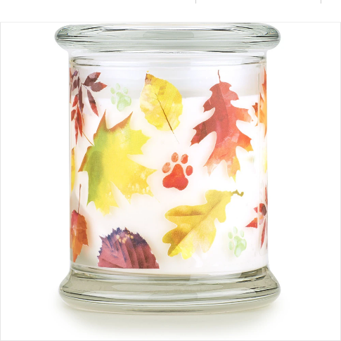 One Fur All Pet House Candle Falling Leaves 8.5oz