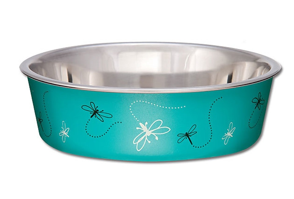 Loving Pet Loving Pets Bella Bowl Dragonflies