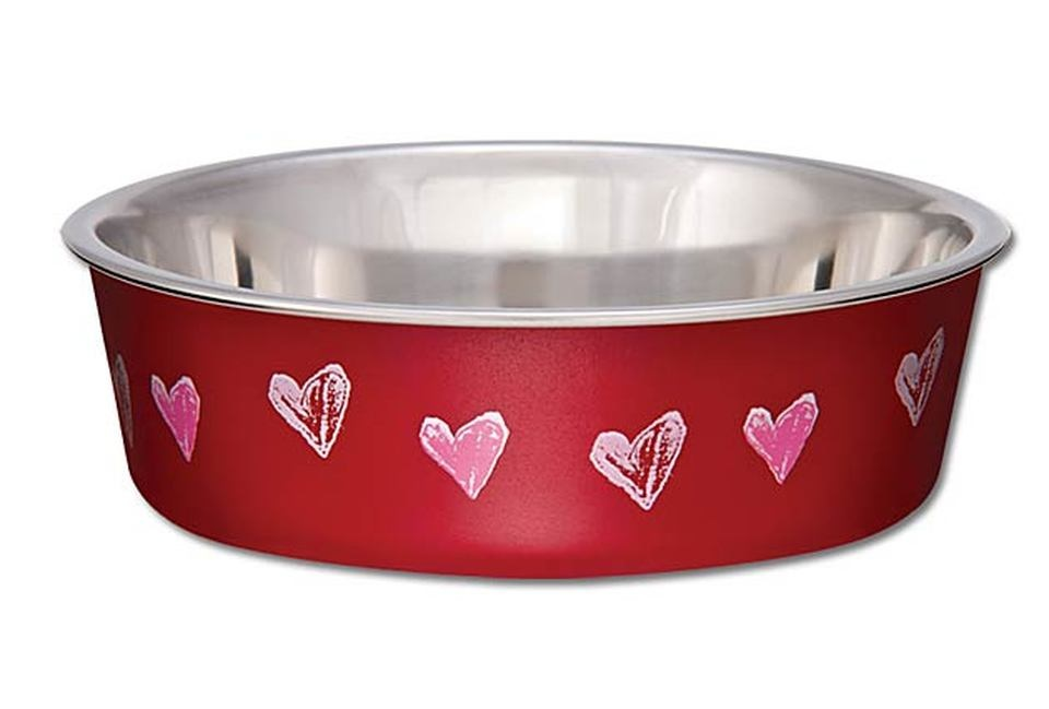 Loving Pet Loving Pets Bella Bowl Hearts
