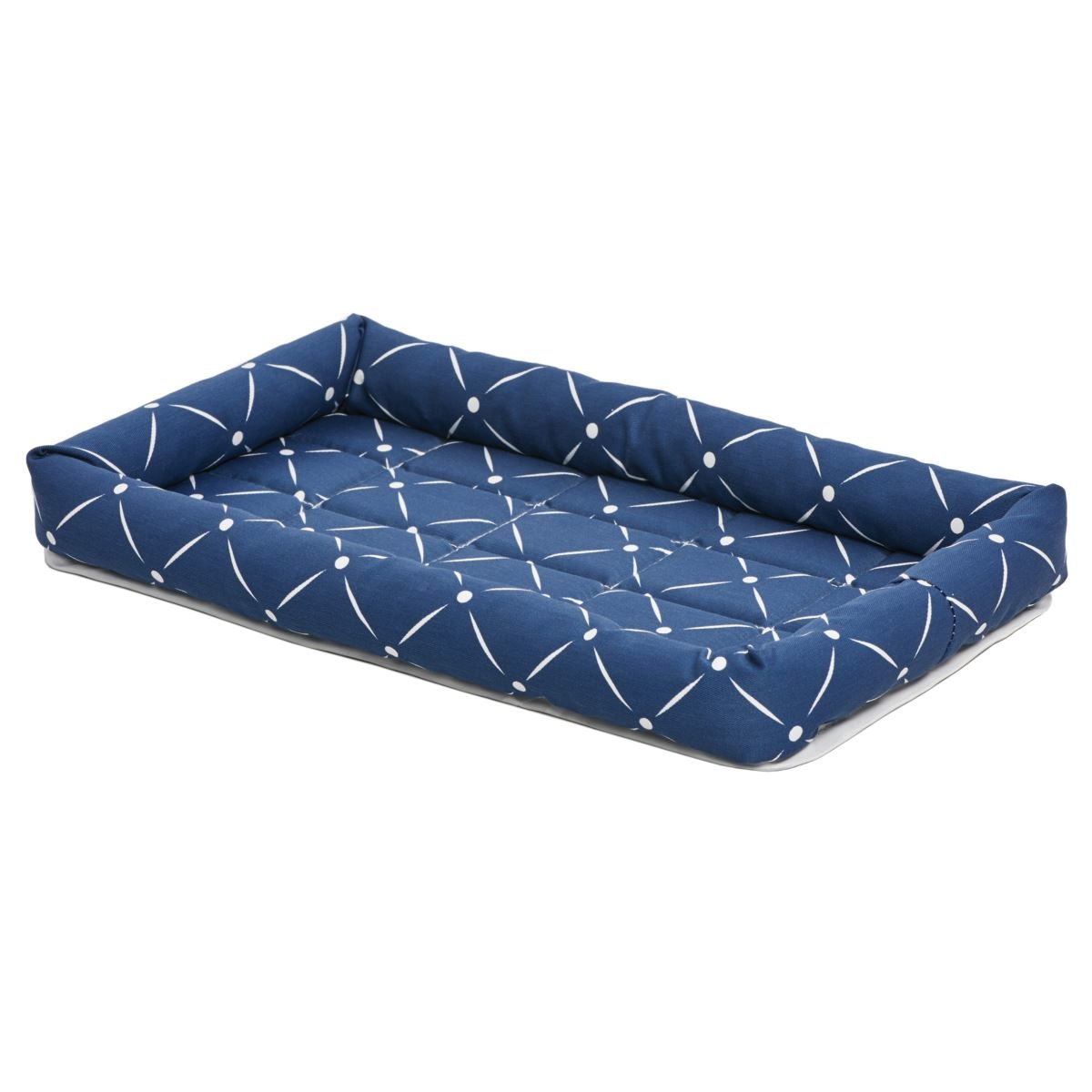 Midwest Midwest Quiettime Couture Blue Ashton Bolster Bed