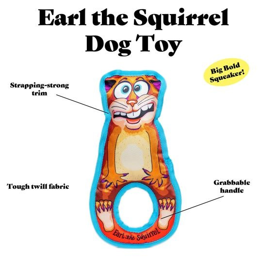 Fuzzu Fuzzu Grab Nabbers Earl The Squirrel